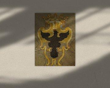 Marmeren wapen / Coat of arms, St. John's Co Cathedral, Valletta, Malta van Maurits Bredius
