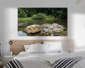 rotsen in rivier semois von Compuinfoto .