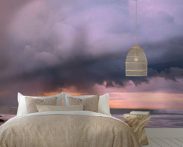Sfeerimpressie behang: Stormclouds van peter meier