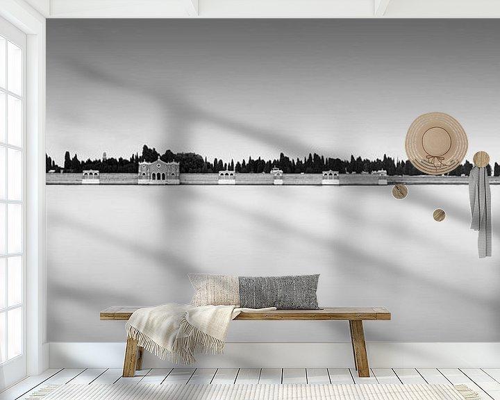 Sfeerimpressie behang: Geïsoleerd van Niels Devisscher