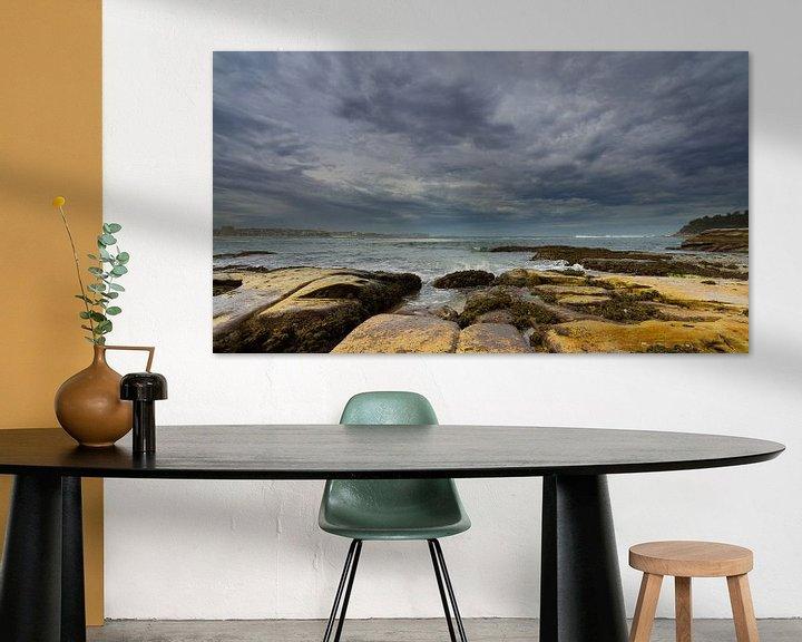 Sfeerimpressie: Manly Beach - Sydney, Australia van Niels Heinis