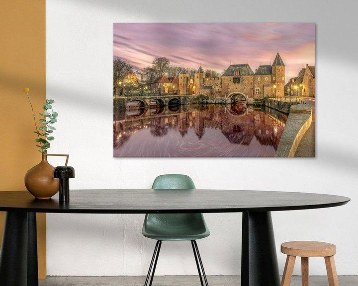 Sfeerimpressie: Koppelpoort Amersfoort van Bert Buijsrogge