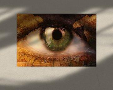 Auge Kunst von Orhan Sahin