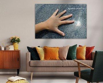 Hand wijst naar de zon von Bargo Kunst