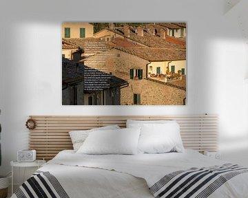 daken in Toscane von Bargo Kunst
