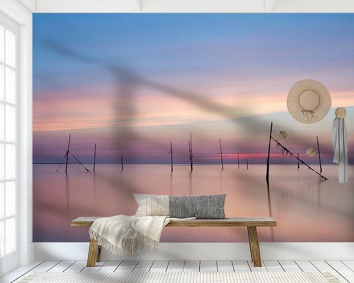 Beispiel fototapete: Rockanje Sonnenuntergang von Ingrid Van Damme fotografie