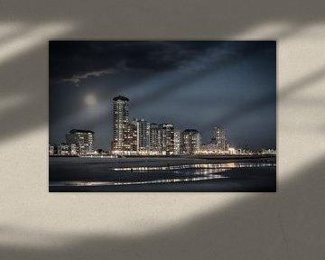 Vlissingen Skyline  van Ingrid Van Damme fotografie