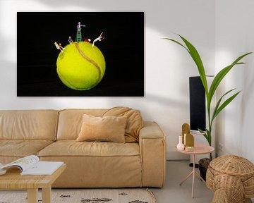 Tennisplanet von Marco van den Arend