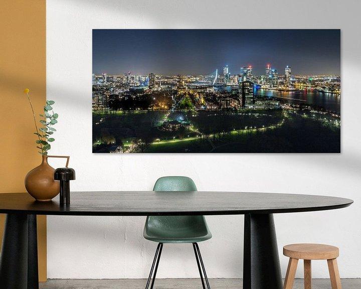 Beispiel: Skyline Rotterdam von Peter Sneijders