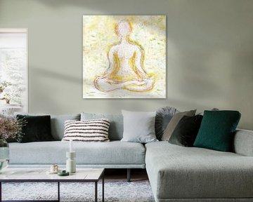 Yogi in warmte van ART Eva Maria