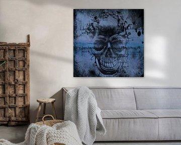 Insane Skull Art von Nicky`s Prints