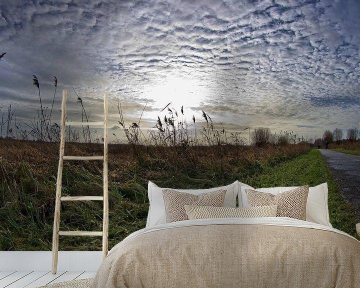 Sfeerimpressie behang: Stormy Weather van Wouter Kok