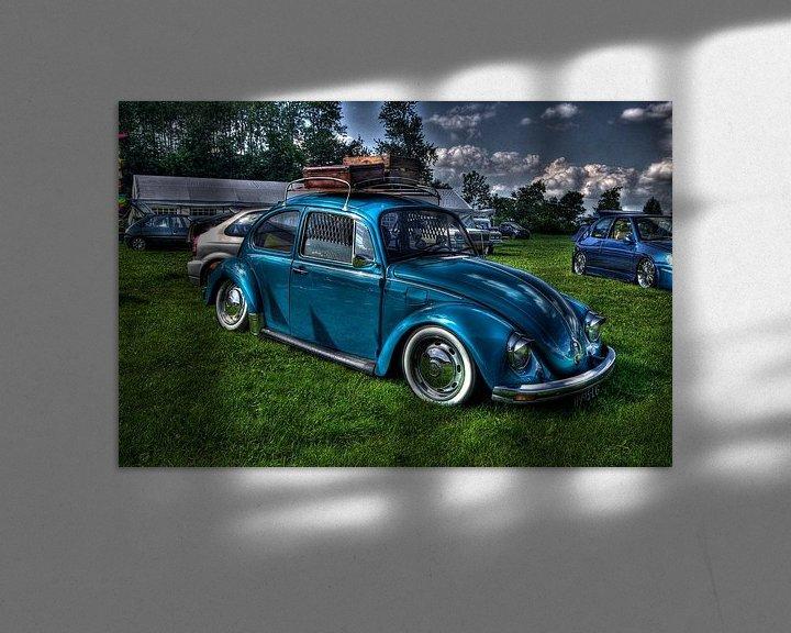 Sfeerimpressie: Blue Beetle van Wouter Kok