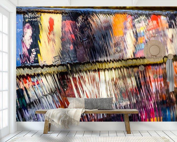 Beispiel fototapete: Melting Colors II von Pascal Raymond Dorland