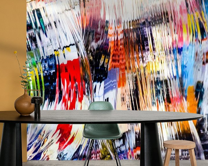 Beispiel fototapete: Melting Colors III von Pascal Raymond Dorland