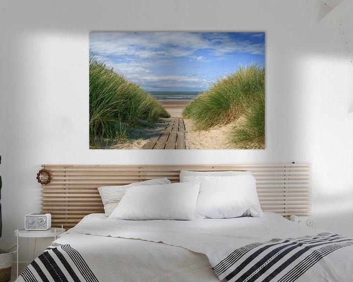 Beispiel: Strandübergang von Zeeland op Foto