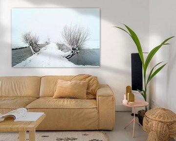 Sneeuwlandschap van Jan Koppelaar