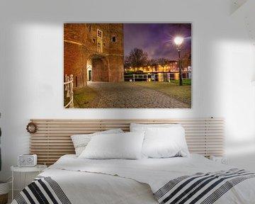 Een avond bij de Oosterpoort in Delft von Dexter Reijsmeijer