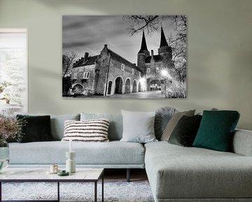 Oosterpoort zwart-wit achterkant  von Dexter Reijsmeijer