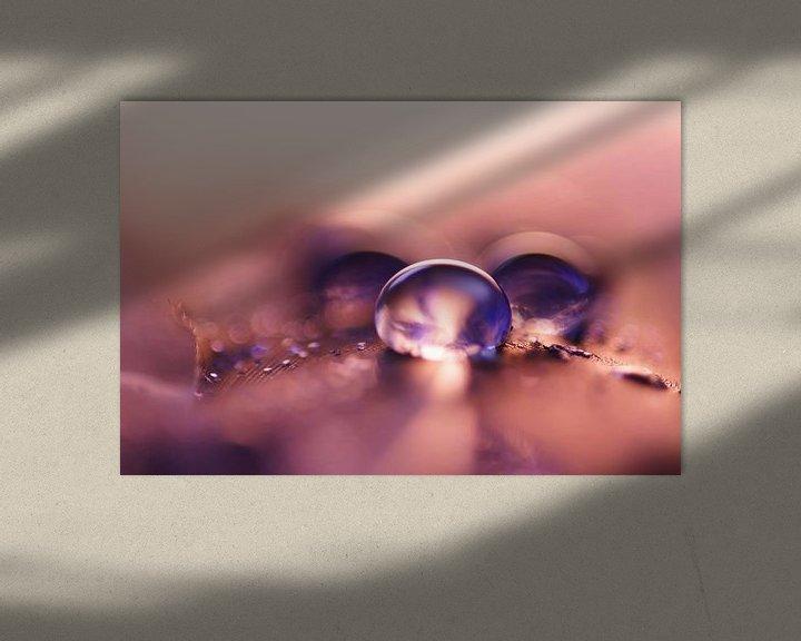 Impression: Pink Drops sur Carla Mesken-Dijkhoff