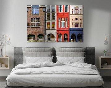 Grachtenhäusern - Utrecht von Thomas van Galen