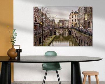 Vismarkt & Oudegracht - Utrecht von Thomas van Galen