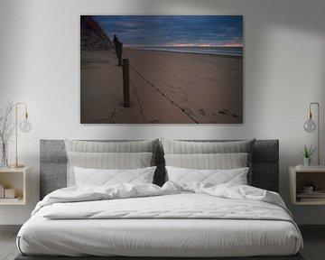 Beach godbeam