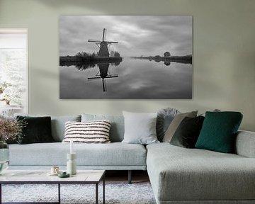 Molens Kinderdijk, Windmills Kinderdijk, Moulins de Kinderdijk,Kinderdijk Windmühlen. van Ron Westbroek