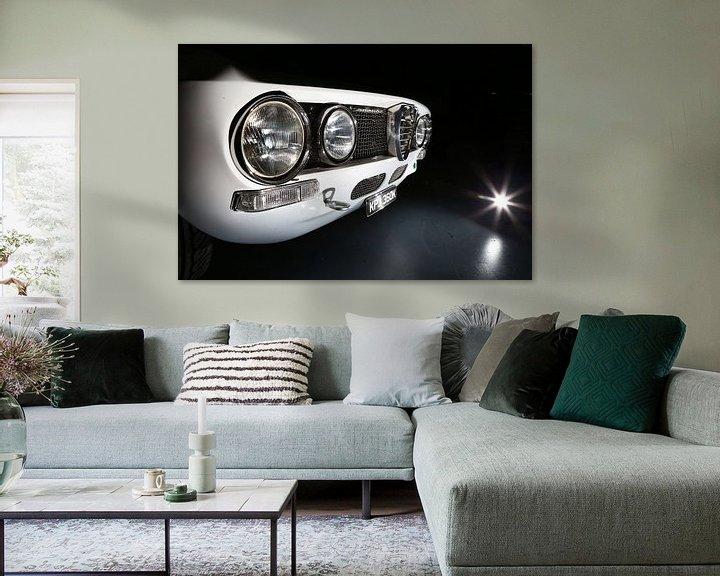 Sfeerimpressie: Alfa Romeo GTV Bertone van Jos Hug