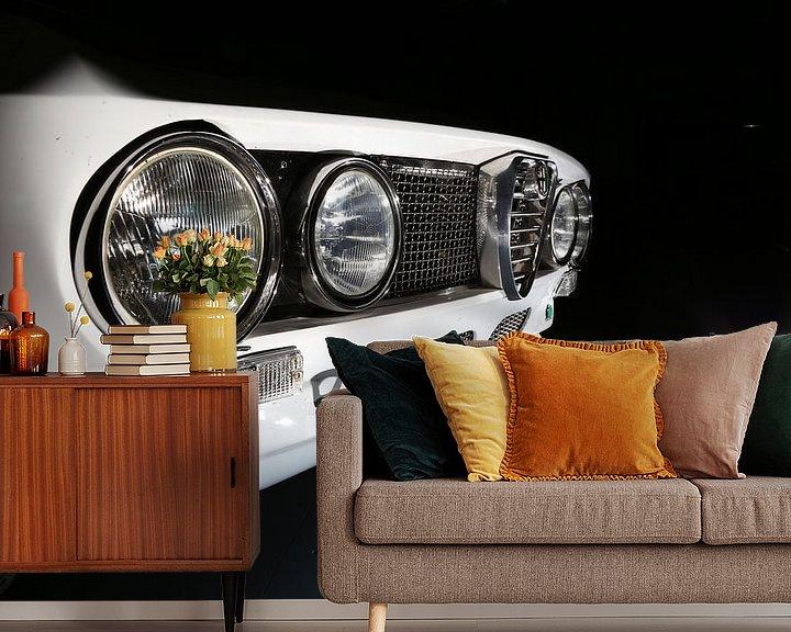 Sfeerimpressie behang: Alfa Romeo GTV Bertone van Jos Hug
