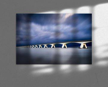 Seebrücke nach dem Sturm von Vincent Fennis