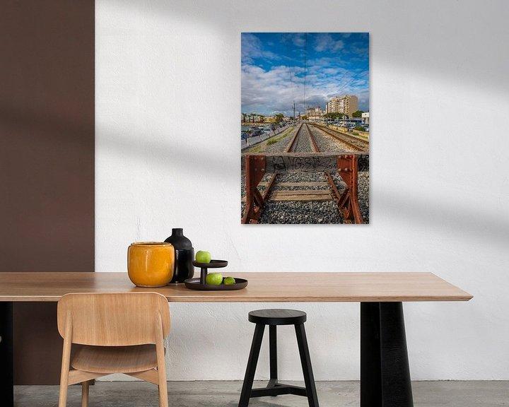 Beispiel: Ende der Eisenbahn von Fred Leeflang