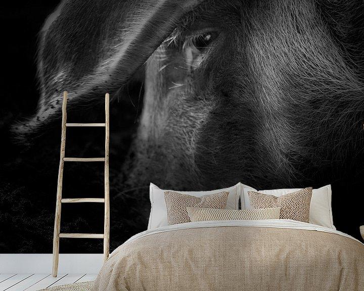 Sfeerimpressie behang: Wat een varken doet van Ruud Peters