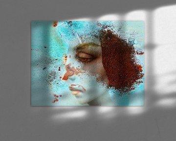 The woman with the rusted hair van Gabi Hampe