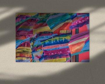 Farbige Fahnen von Fred Leeflang