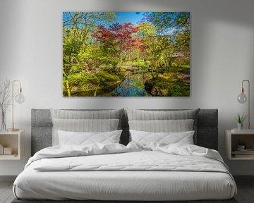 Japanischer Garten von Fred Leeflang
