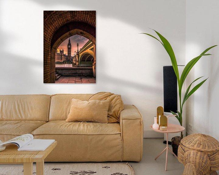 Sfeerimpressie: Big Ben doorkijkje van Henk Smit