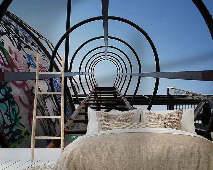 Beispiel fototapete: Stairway to... von Björn Massuger