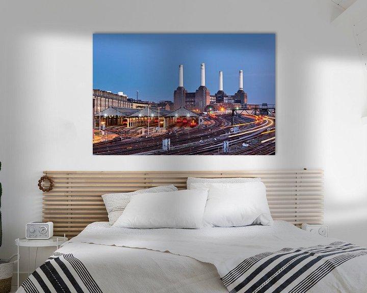 Sfeerimpressie: Battersea Power Station van David Bleeker