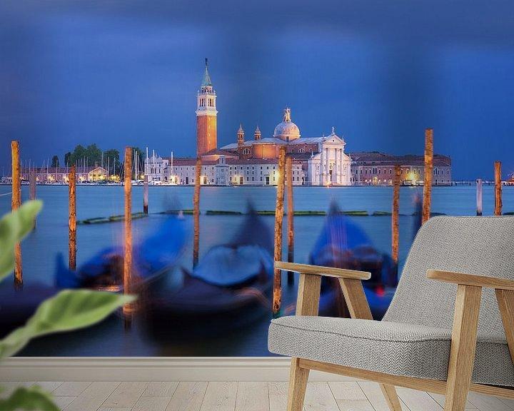 Sfeerimpressie behang: Venetië van Albert Dros