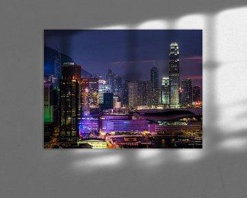 Hong Kong skyline von Albert Dros