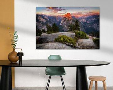 Yosemite sunset sur Albert Dros