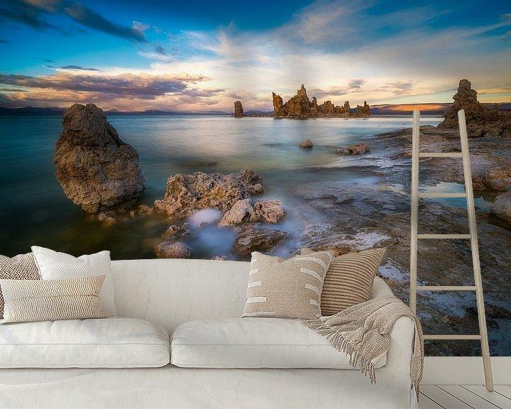 Sfeerimpressie behang: Mono Lake, California  van Albert Dros
