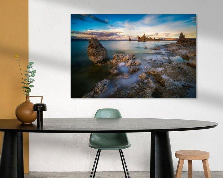 Sfeerimpressie: Mono Lake, California  van Albert Dros