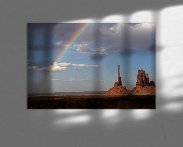 Totem Pole, Monument Valley 2011 van Arno Fooy