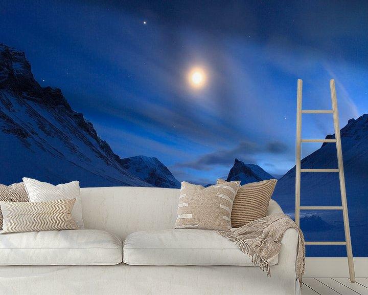 Sfeerimpressie behang: Nallo Night van Sander van der Werf