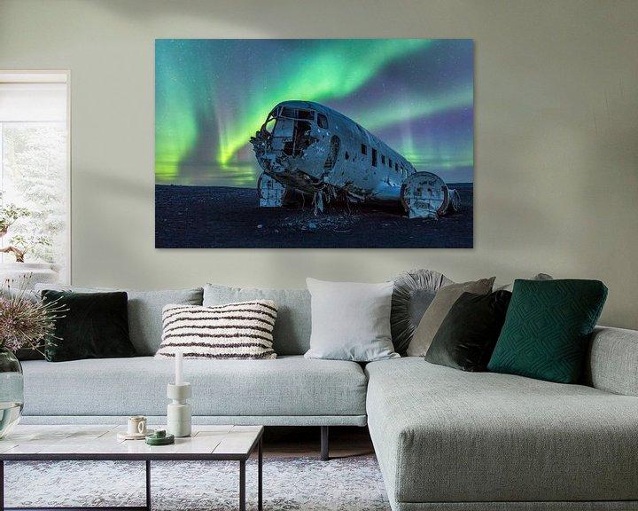 Beispiel: Lost Plane von Tom Opdebeeck
