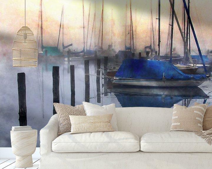 Impression: Harbour of lights  sur Sandra Akkerman