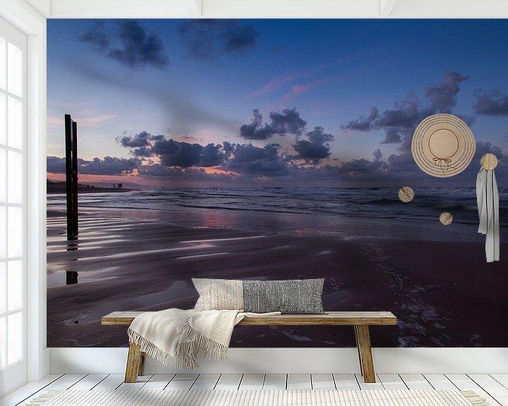Sfeerimpressie behang: The night is coming van Herbert Seiffert