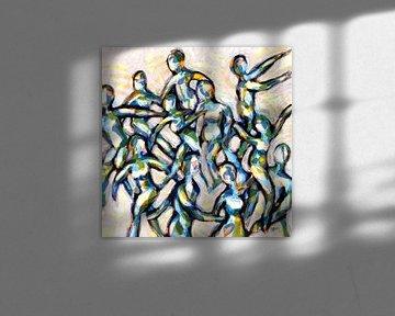 Voici la partie! sur ART Eva Maria